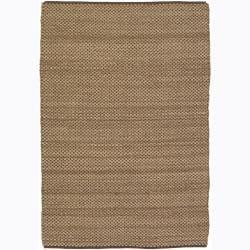 Artist's Loom Handmade Flatweave Casual Reversible Rug (5' x 7'6) - 5' x 7'6 - Thumbnail 0
