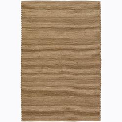 Artist's Loom Handmade Flatweave Casual Reversible Rug (5' x 7'6)