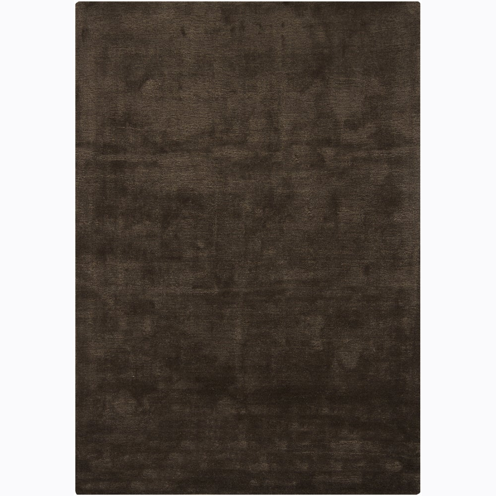 Artist's Loom Hand-tufted Contemporary Solid Rug - 5'3 x 7'7