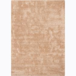 Artist's Loom Hand-tufted Contemporary Solid Rug - 5'3 x 7'7 - Thumbnail 0