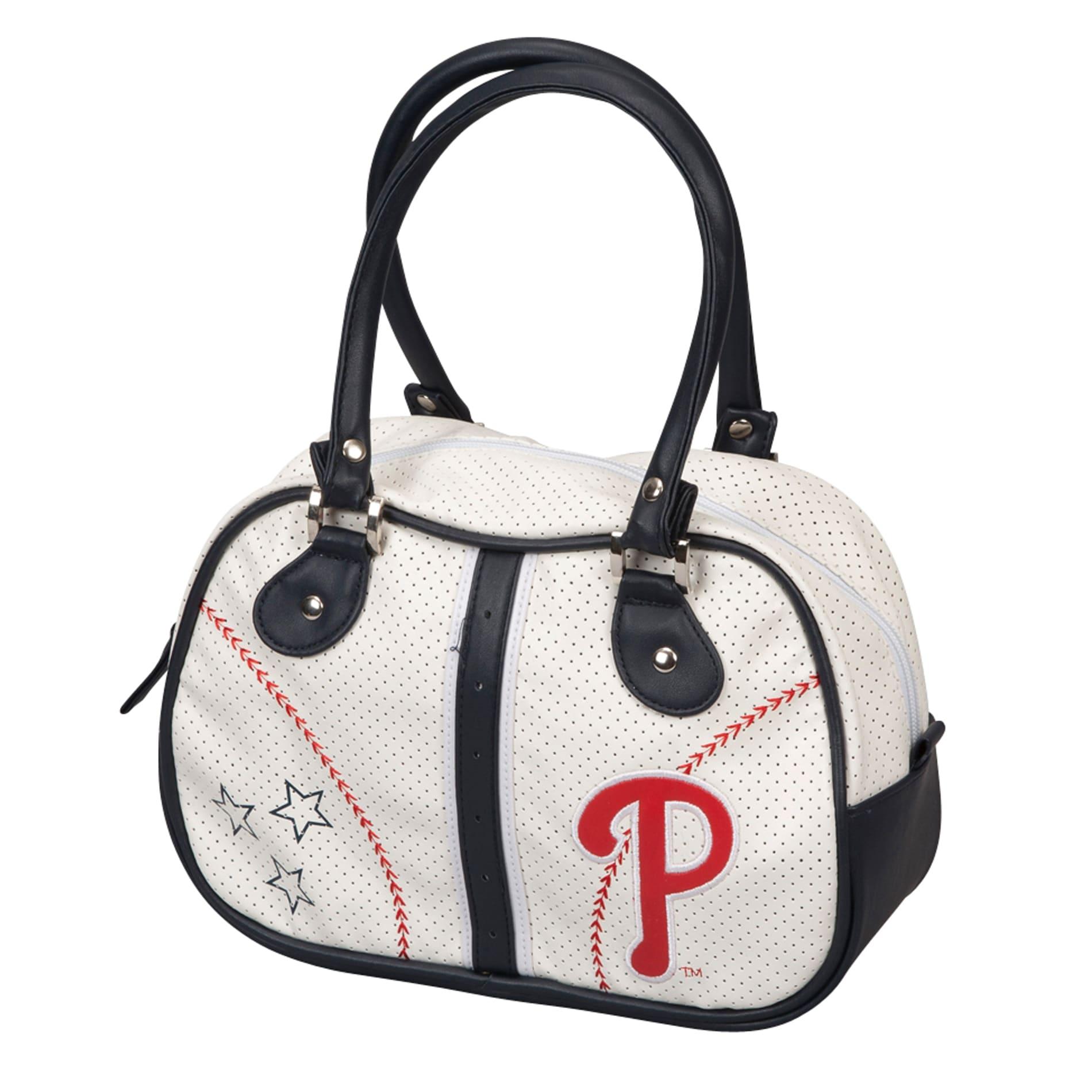 Philadelphia Phillies Red Bowler Bag Purse