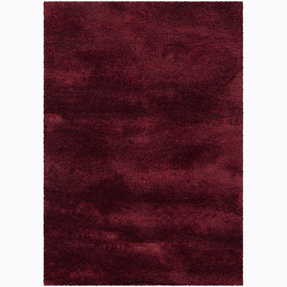 Artist's Loom Hand-woven Shag Rug (5'3 x 7'7) - 5'3 x 7'7