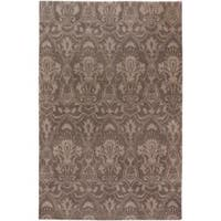 Hand Knotted Lowestoft Hand-carded New Zealand Wool Area Rug (9' x 13')