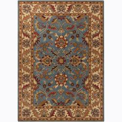 Artist's Loom Hand-tufted Traditional Oriental Wool Rug (7'x10') - Thumbnail 0