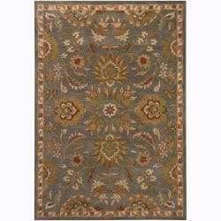 Artist's Loom Hand-tufted Traditional Oriental Wool Rug (5'x7') - 5' x 7' - Thumbnail 0