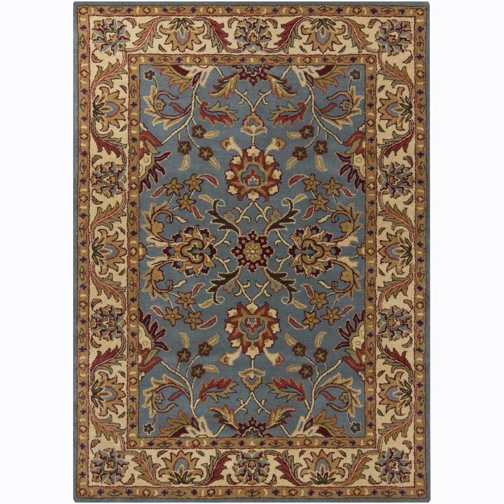 Artist's Loom Hand-tufted Traditional Oriental Wool Rug (5'x7') - 5' x 7'
