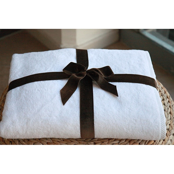 Authentic Hotel and Spa Plush Soft Twist Turkish Cotton Bath Sheet