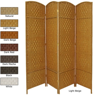 Diamond Weave 7-foot Room Divider (China)