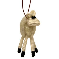 Yarn Sheep Ornament (Colombia)