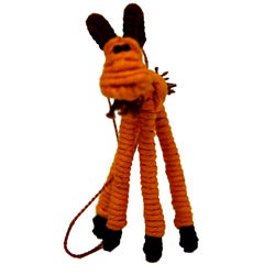 Yarn Billy Goat Ornament (Colombia)