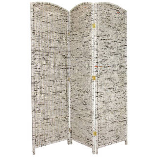 Handmade Recycled Newspaper 6-foot Tall Room Divider (China)