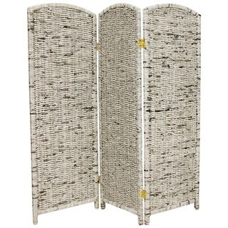 Handmade Recycled Newspaper 4-foot Tall Room Divider (China)