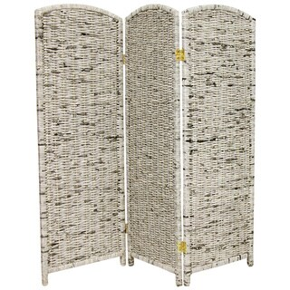 Handmade Recycled Newspaper 4-foot Tall Room Divider (China) - 4' H