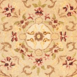 Safavieh Handmade Aubusson Creteil Beige Light Gold Wool