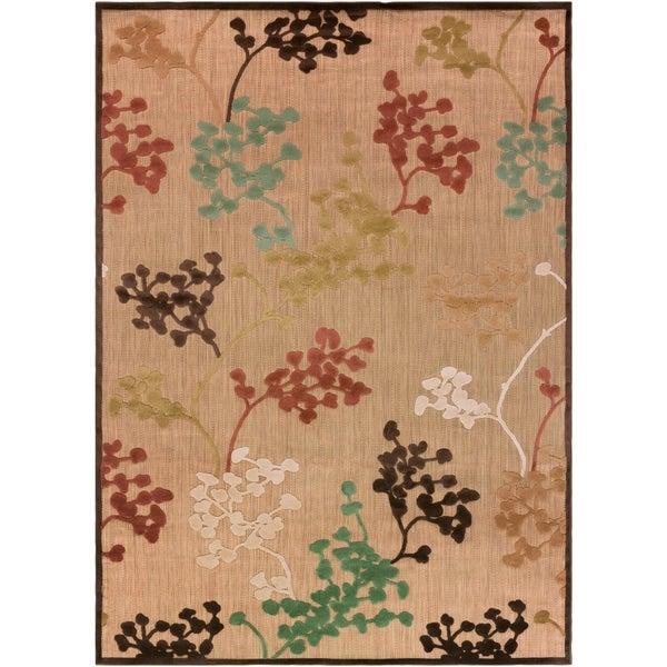 """Hatfield Indoor/Outdoor Floral Area Rug - 7'10"""" x 10'8"""""""