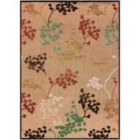 Hatfield Indoor/Outdoor Floral Area Rug - 7'10 x 10'