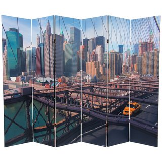 Handmade Double-sided 6-foot NY Taxi Room Divider (China)
