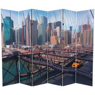 Double-sided 6-foot NY Taxi Room Divider (China)