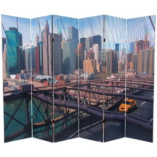 Handmade Double-sided 6-foot NY Taxi Room Divider (China)