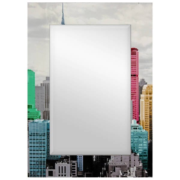 Colorful New York City Mirror (China) - Free Shipping Today ...