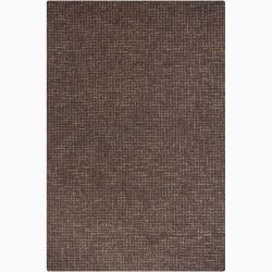 Artist's Loom Hand-tufted Contemporary Abstract Wool Rug - 8' x 10' - Thumbnail 0
