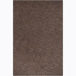 Artist's Loom Hand-tufted Contemporary Abstract Wool Rug (4'x6')