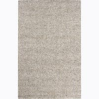 Artist's Loom Hand-tufted Contemporary Abstract Wool Rug - 5' x 8'