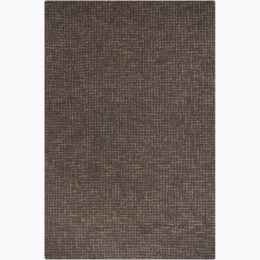 Artist's Loom Hand-tufted Contemporary Abstract Wool Rug - 6'x9'