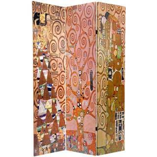 Handmade 6' Stoclet Frieze Works of Klimt Room Divider