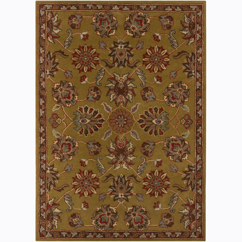 Artist's Loom Hand-tufted Traditional Oriental Wool Rug (5'x7')