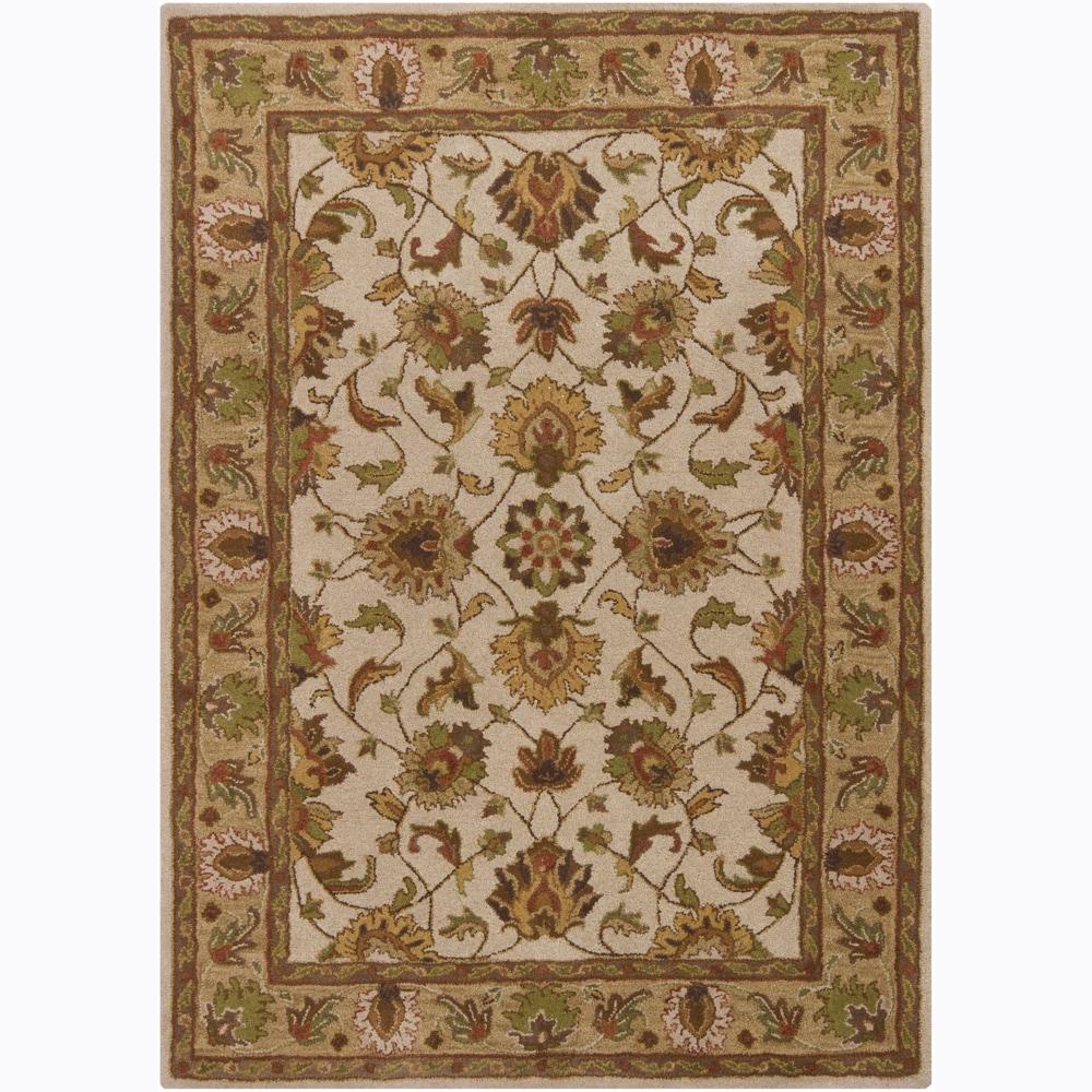 Artist's Loom Hand-tufted Traditional Oriental Wool Rug (5