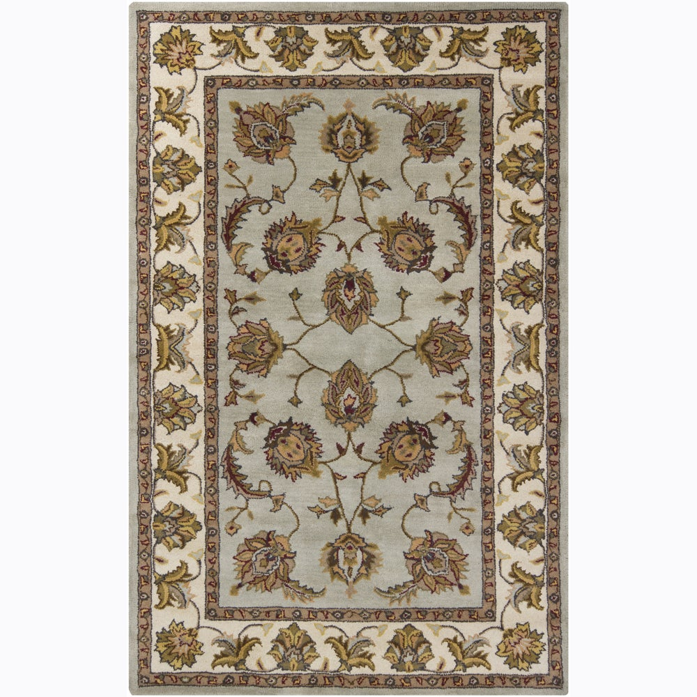 Artist's Loom Hand-tufted Traditional Oriental Wool Rug - 8'x10'