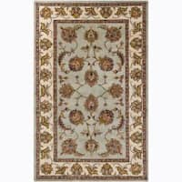 Artist's Loom Hand-tufted Traditional Oriental Wool Rug - 8' x 10'