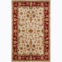 Artist's Loom Hand-tufted Traditional Oriental Wool Rug (5'x8')