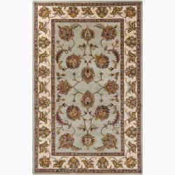 Artist's Loom Hand-tufted Traditional Oriental Wool Rug (5'x8') - Thumbnail 0