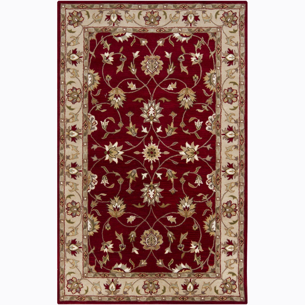 Hand-tufted Mandara Oriental Wool Rug (8' x 10')