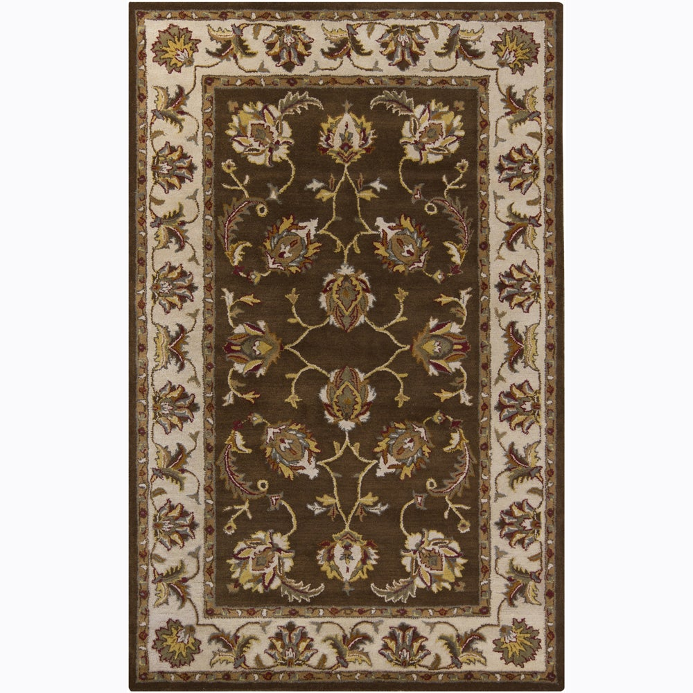 Artist's Loom Hand-tufted Traditional Oriental Wool Rug (8'x10')