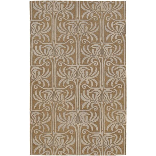 Hand Tufted Garstang New Zealand Wool Area Rug - 5' x 8'