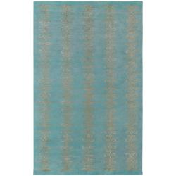 Hand-tufted Pamir Geometric Pattern Wool Area Rug (8' x 11') - 8' x 11' - Thumbnail 0
