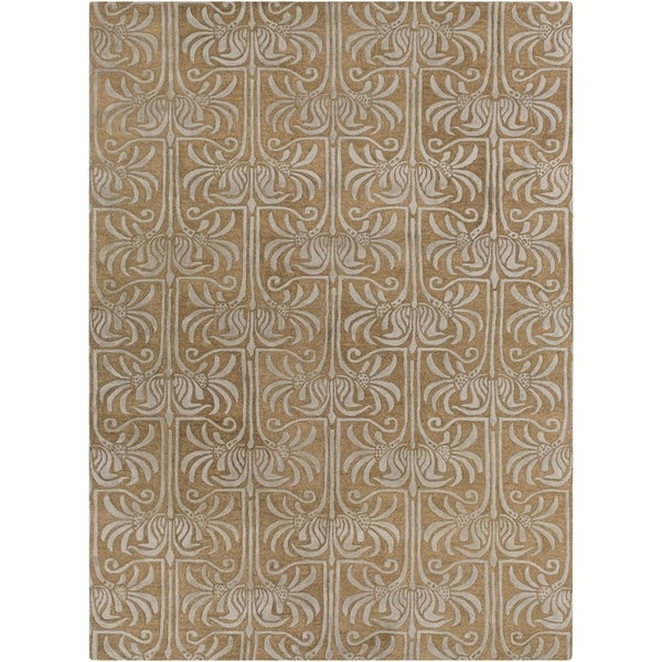 Hand Tufted Garstang New Zealand Wool Area Rug - 8' x 11'