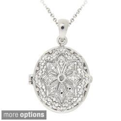 DB Designs Diamond Accent Star Design Oval Locket Necklace https://ak1.ostkcdn.com/images/products/6345930/DB-Designs-Diamond-Accent-Star-Design-Oval-Locket-Necklace-P13967280b.jpg?impolicy=medium