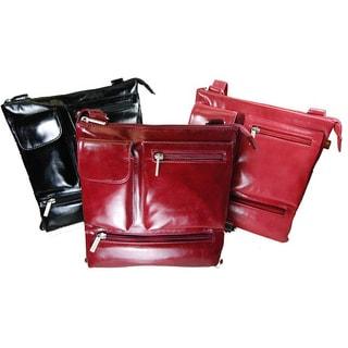 Castello Borsa Faux Leather Crossbody Shoulder Bag