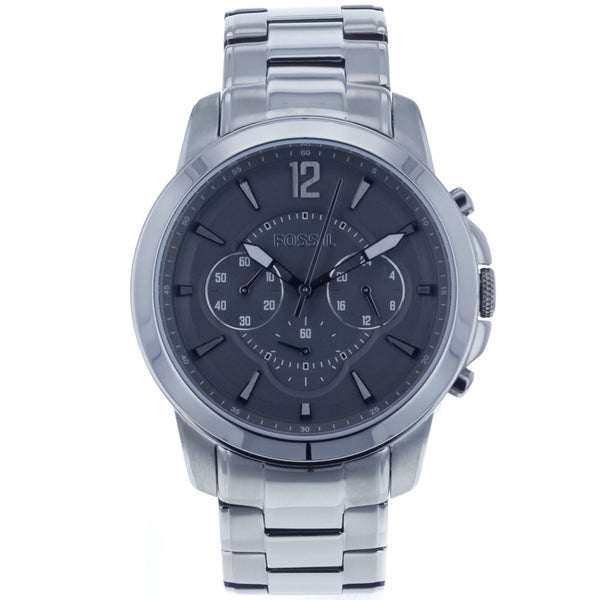 Fossil Men's 'Grant' Plated Stainless Steel Chronograph Watch