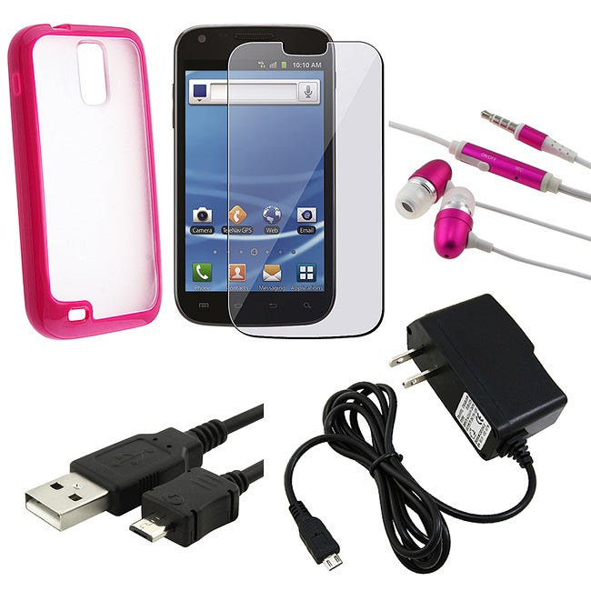 BasAcc Case/ LCD Protector/ Headset/ Charger/ Cable for Samsung T989