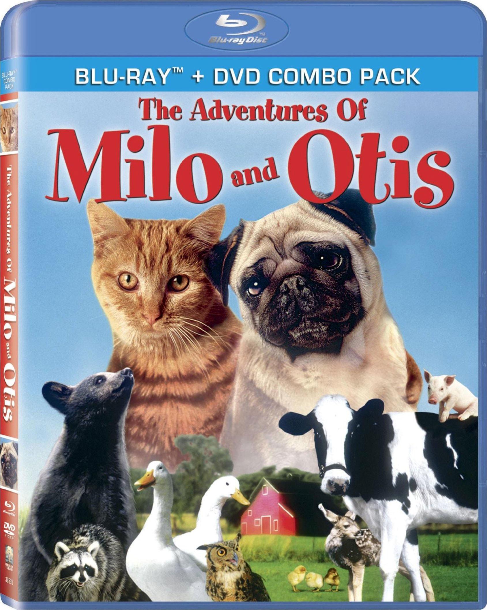 Adventures of Milo & Otis (Combo) (Blu-ray Disc)