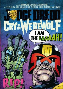Judge Dredd: Cry of the Werewolf (Paperback)