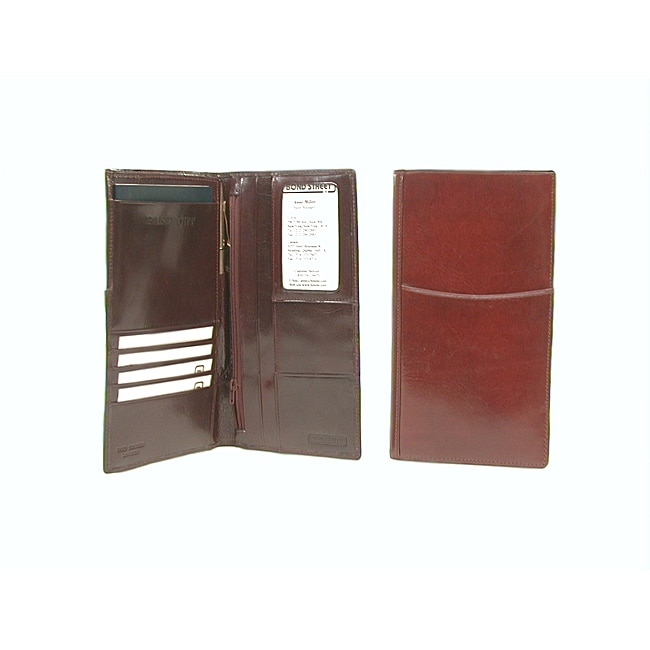 Men's Tuscany Leather Travel Wallet