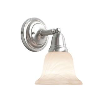 Woodbridge Lighting Hudson Glen 1-light Satin Nickel Bath Sconce