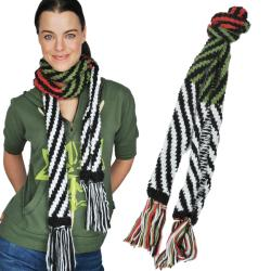 Handcrafted Rolled Scarf (Nepal)