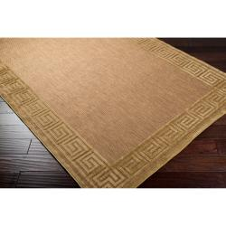 Baird Indoor/Outdoor Geo Border Rug (7'10 x 10'8)